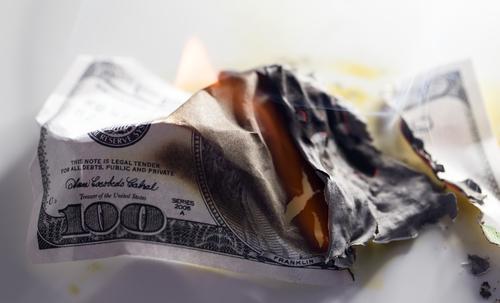 שריפת מטבע של ביננס